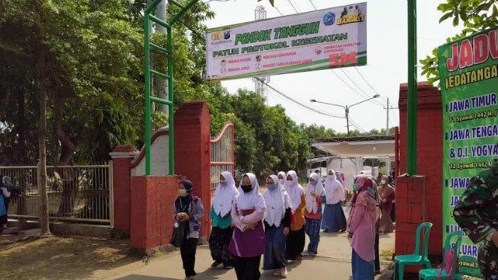 Santri Pondok Pesantren Lirboyo di Kota Kediri Wajib Bawa Hasil Swab Antigen Covid-19 atau GeNose