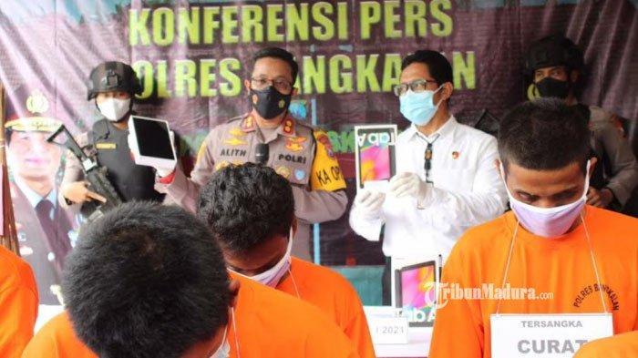 Dua Pemuda Bangkalan Madura Terancam Hukuman Penjara 12 Tahun, Kedapatan Simpan Bahan Peledak