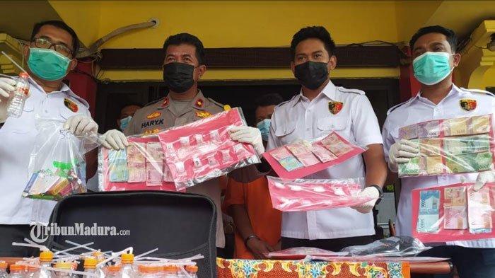 Beli Sabu dari Madura, Dua Warga Surabaya Buka Bisnis Narkoba, Layani Gratis Pakai di Lokasi