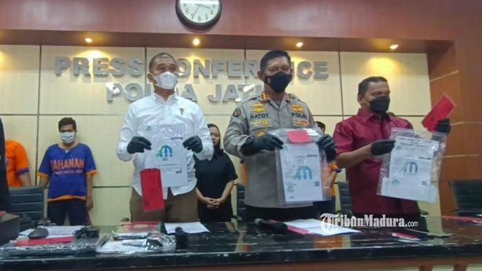 Sindikat Pemalsu Surat Hasil Rapid Test dan Swab Ditangkap Polda Jatim, Bidik Pelanggan yang Mudik
