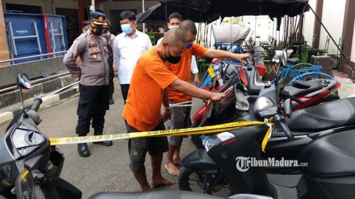 Meresahkan Warga, Baginda Akhirnya Ditangkap Polisi, Terlibat Pencurian Motor secara Berantai