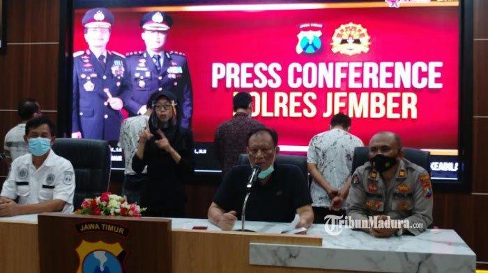 Polda Jatim Melimpahkan Kasus Penyalahgunaan Narkoba 4 Kepala Desa di Jember ke Polres Jember