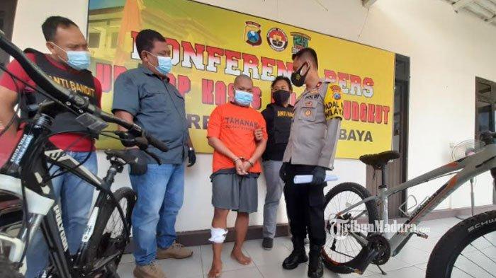 Dalih Ibu Sakit, Pemuda Surabaya Curi Sepeda Angin, Tak Kapok Sudah Dipenjara 2 Kali
