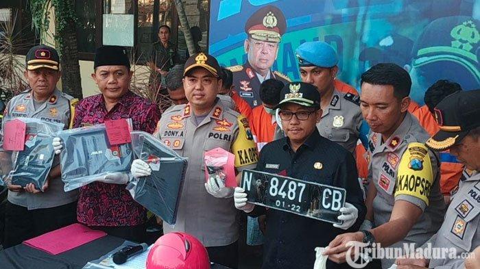 Polres Malang Kota Bekuk 8 Pelaku Curanmor Meresahkan, 46 Kendaraan Berhasil Dikembalikan ke Korban