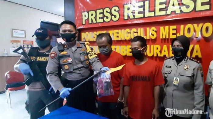 3 Tahun Buron, Dua Tersangka Pembobol Rumah di Surabaya Ditangkap, Satu Pelaku Masih Tetangga Korban