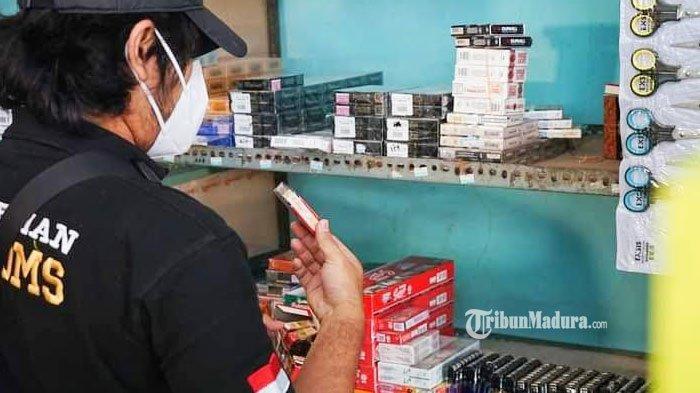 Inilah Daftar Merek Rokok Ilegal yang Beredar di Pamekasan, Bea Cukai Madura Ingatkan Para Penjual
