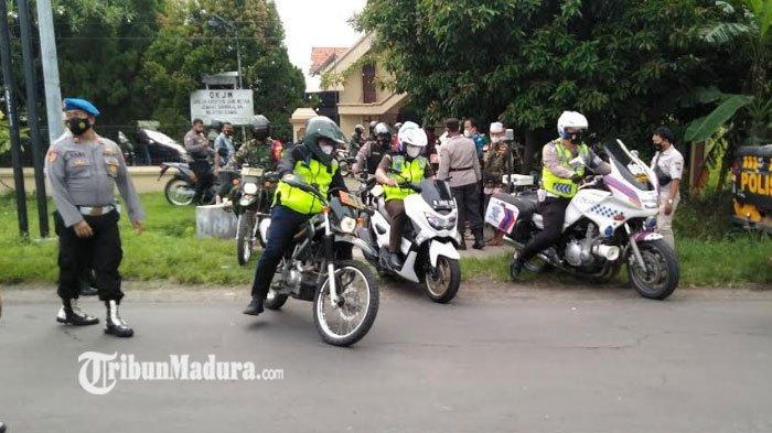 Pastikan Keamanan Hari Paskah, Forkopimda Bangkalan Naik Motor Trail Kunjungi Gereja di Bangkalan
