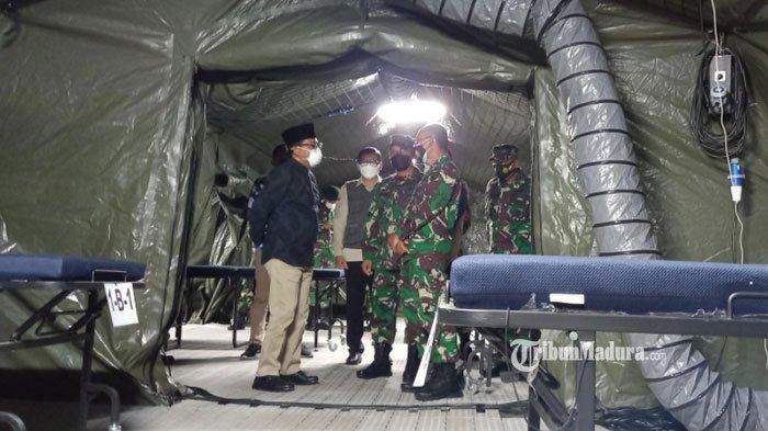 RS Lapangan RST Soepraoen Malang Beroperasi, Bisa Tampung Ratusan Pasien Covid-19 Gejala Ringan