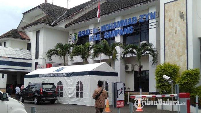 RSUD Dr Muhammad Zyn Sampang Jadi Rumah Sakit Rujukan Covid-19, Sudah Ada 3649 ODR dan 120 ODP
