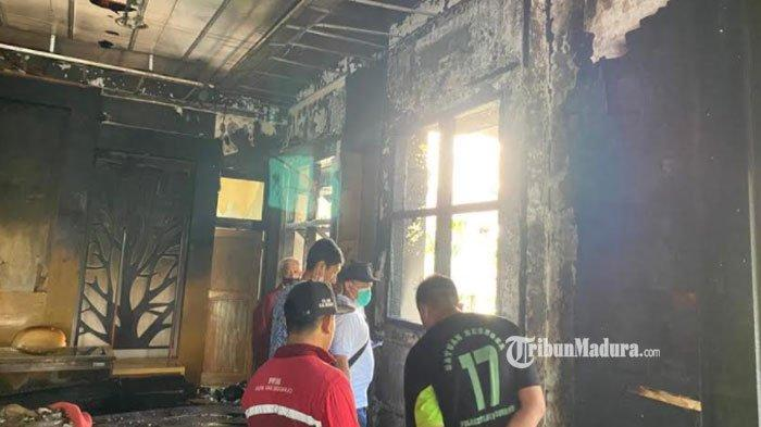 Hari Pertama Kerja setelah Libur Lebaran, Gedung DLHK Sidoarjo Terbakar, Aktivitas Pegawai Terganggu