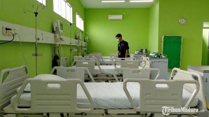 Update Kasus Virus Corona di Pamekasan, Satu Pasien Dipulangkan dariRSUD Dr H Slamet Martodirdjo