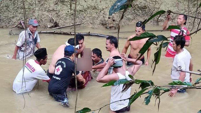 Hilang Semalaman saat ke Sungai, Pria Sampang Terjatuh dan Tenggelam, Ditemukan Tewas Terseret Arus
