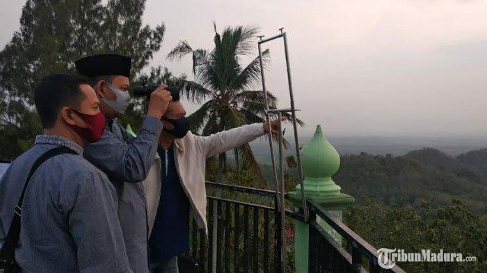 Hilal PenentuanDzulhijjah 1441 H Terlihat di Tuban,Hari Raya Idul Adha Jatuh pada 31 Juli 2020