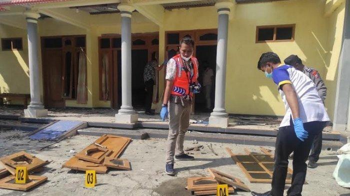 Balon Udara Meledak di Ponorogo, Rusak 4 Rumah dan 1 Sekolah, Polisi Periksa Tiga Warga Desa Ngabar
