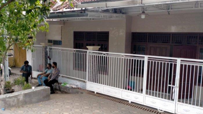 rumah Ibunda Menkopolhukam RI, Mahfud MD di Jalan Dirgahayu, Kelurahan Bugih, Kabupaten Pamekasan, Selasa (1/12/2020) (TRIBUNMADURA.COM/KUSWANTO FERDIAN)