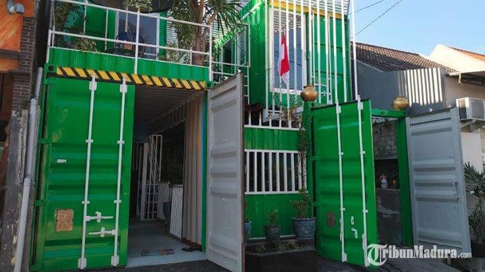 Ada Rumah Terbuat dari Kontainer Bekas di Sidoarjo, Lebih Hemat Biaya dan Anti Rayap