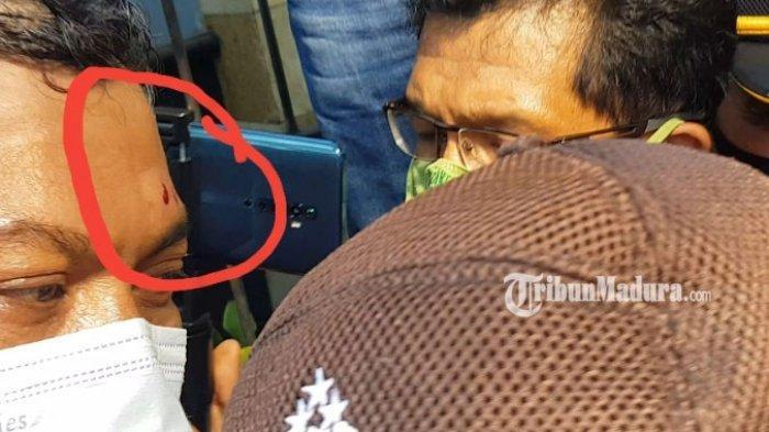 1 Anggota Polisi Terluka Imbas Ricuh Demo Tolak UU Cipta Kerja di DPRD Sumenep, Mahasiswa Diamankan