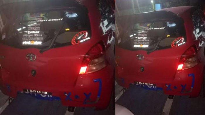 Balapan Mobil Liar di Sampang Berujung Sanksi, Mobil Toyota Yaris dan Honda Brio Diamankan