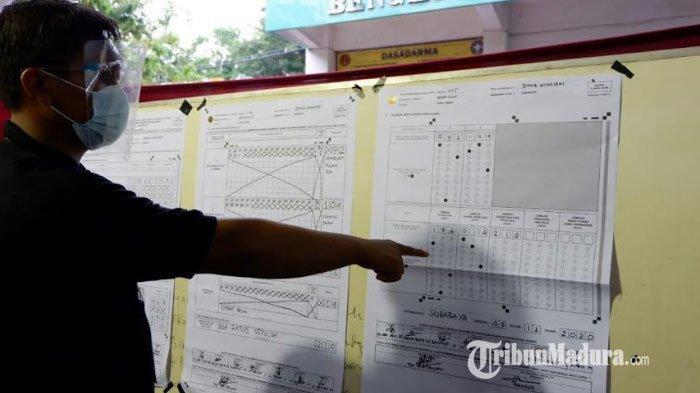 Hasil Penghitungan Suara, Machfud Arifin-Mujiaman Menang Telak di TPS Tempat Khofifah Mencoblos