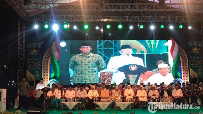Santri Culture Night Carnival DihadiriMaruf Amin & Sejumlah Menteri,Fachrul Razi Justru Tak Hadir