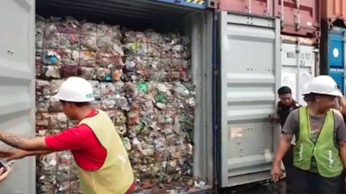 Kontainer Isi Sampah Impor Menepi diPelabuhan Tanjung Priok, DPR RI Minta Kembalikan ke Negara Asal