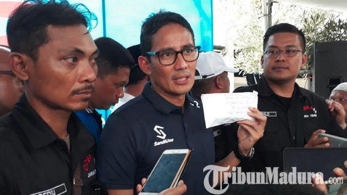 Kampanye Politik Zaman Now, Sandiaga Uno Blak-blakan Ngaku Sering Disawer, Jumlahnya Bikin Dia Kaget