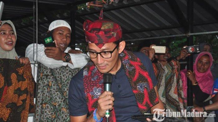 Usai Dari Ngawi dan Magetan, Sandi Uno Dijadwalkan Safari Politik ke Madiun Hari Ini