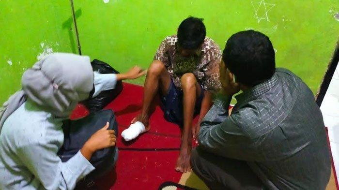ODGJ Jadi Korban Kecelakaan di Sampang, Terungkap Identitasnya, Kini Dijemput Keluarga