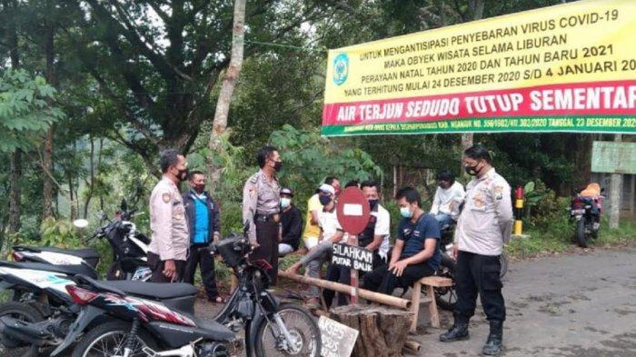 Cegah Penularan Virus Corona, Satgas Covid-19 Kabupaten Nganjuk Perkuat Penutupan Objek Wisata