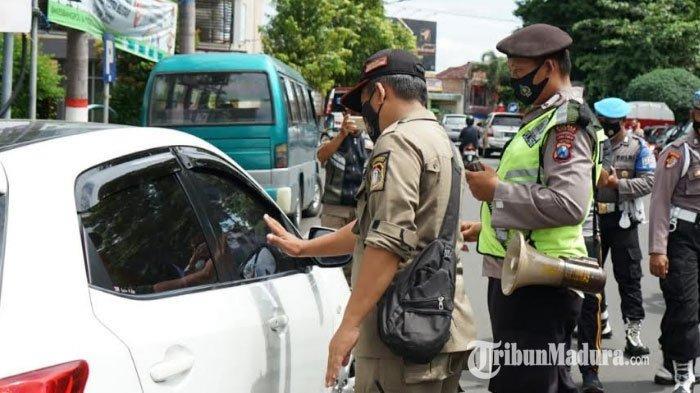 Kota Blitar Zona Merah, Tim Satgas Kembali Tingkatkan Operasi Yustisi Prokes Kendalikan Covid-19