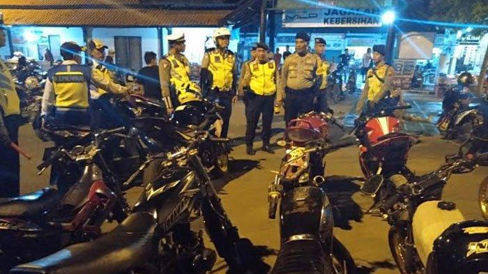 Tak Sesuai Standar, Puluhan Motor diBojonegoro Terjaring Razia Polisi Menjelang Tahun Baru