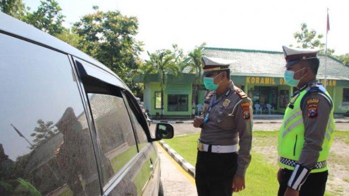 Perketat Pengawasan Check Point Padangandi di Perbatasan Jatim-Jateng, Pemudik Melintas Putar Balik