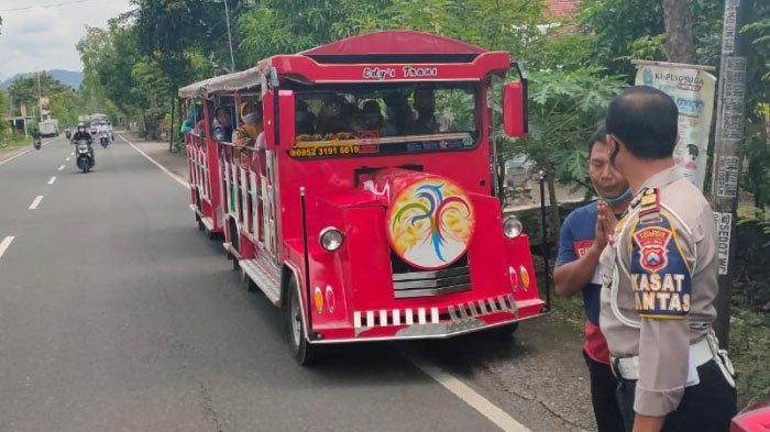 Kereta Kelinci Dilarang Beroperasi di Jalan Umum, Satlantas Polres Ponorogo Tindak Tegas Operator