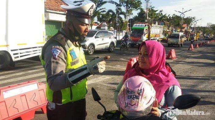 350 Pengendara di Sampang Ditindak Tilang, TerjaringOperasi Patuh Semeru 2020 selama 4 Hari
