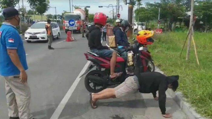 Bawa Masker Tapi Malas Memakainya, Siap-siap Disuruh Push Up hingga KTP Disita Satpol PP Surabaya