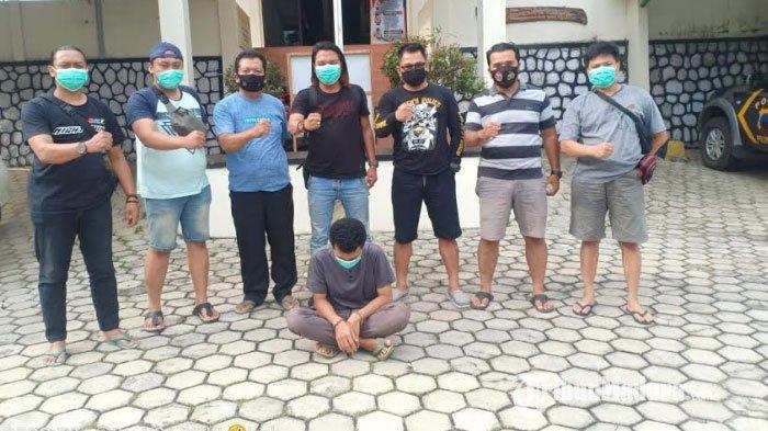 Dikejar hingga Jawa Tengah, Polisi Gresik Tangkap Pelaku Pencurian Motor yang Dicuci di Teras Rumah