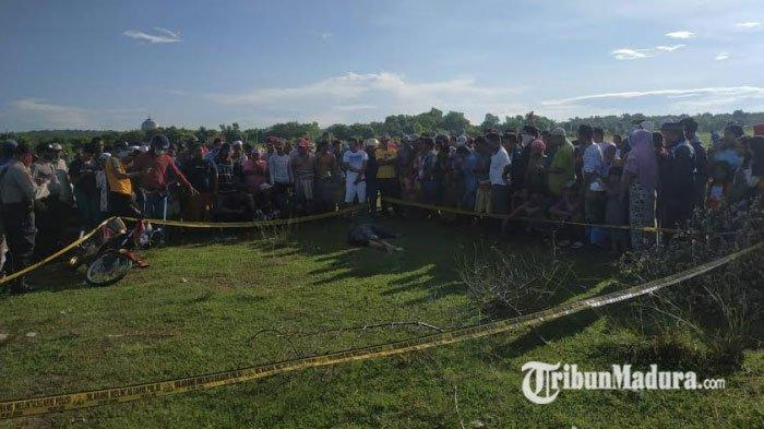 Mayat Ditemukan di Lapangan Lengser, Sampang, Kepala Desa Sejati Benarkan Mayat itu Warganya