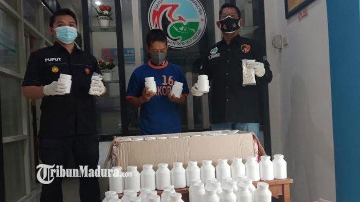Kronologi Kurir Ekspedisi Asal Surabaya Dibekuk Polisi di Kediri, Ratusan Ribu Pil Narkoba Diamankan