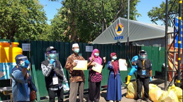 Kabar Gembira, 72,9 Persen Pasien Covid-19 di Rumah Sakit Lapangan Surabaya Sembuh