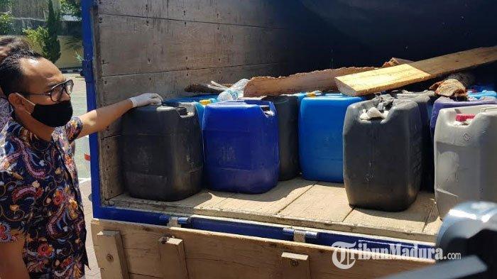3 Penjual Ditangkap Saat Bawa 2.700 Liter Arak Jowo di Tol Ngawi-Madiun, Terancam 15 Tahun Penjara