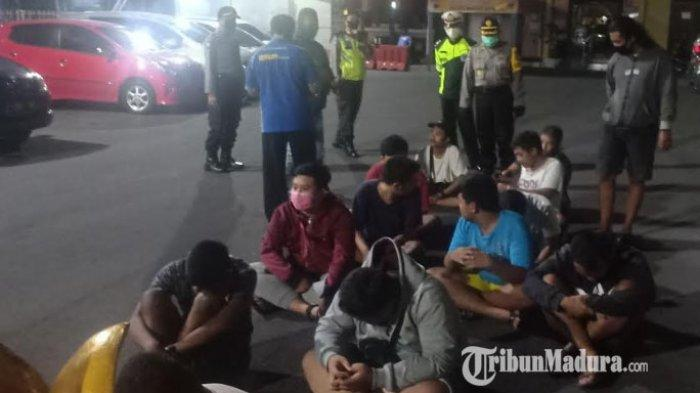 Balap Liar Jelang Jam Sahur di Ring-road Kota Madiun, 13 Remaja dan 1 Anggota DPRD Diamankan Polisi