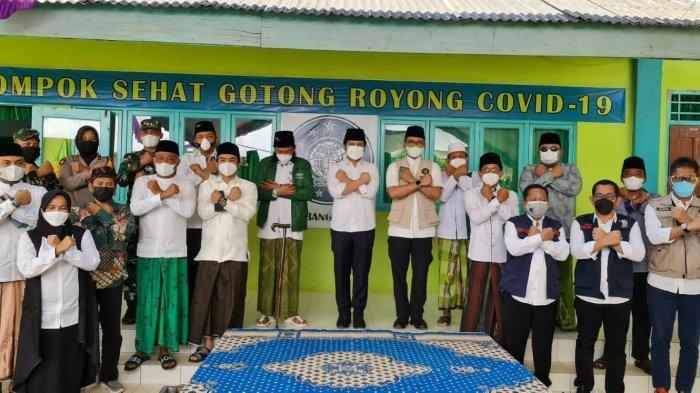 Indahnya 'Pelangi' di Langit Compok Sehat Gotong Royong Covid-19 Kabupaten Bangkalan Madura