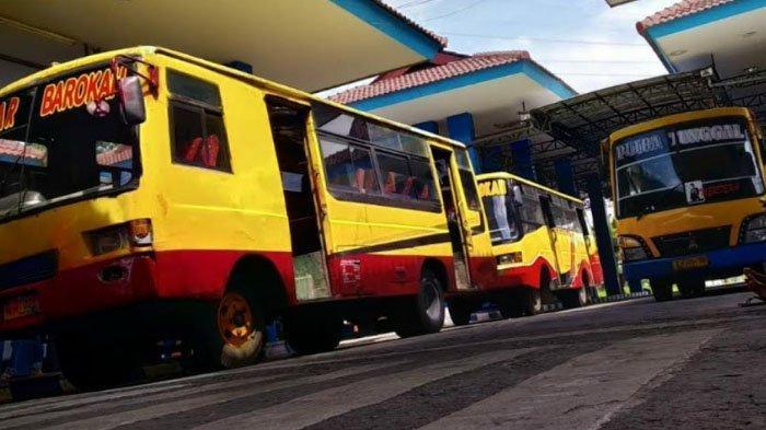 Bukan Keperluan Mudik, Bus AKDP di Terminal Kertajaya Boleh Beroperasi saat Masa Larangan Mudik 2021