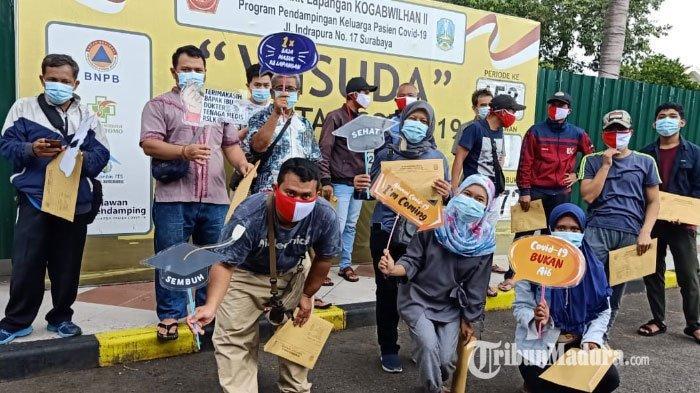 Jumlah Pasien Positif Covid-19 di Surabaya Membludak, RS Lapangan Indrapura Dibanjiri Pasien Baru