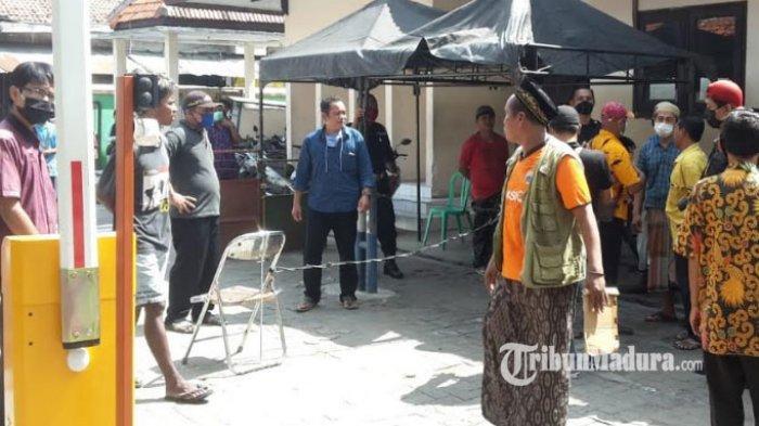 Sejumlah Pedagang Protes Listrik Padam di Pasar Srimangunan Sampang: Jarang Pembeli, Dibuat Rumit