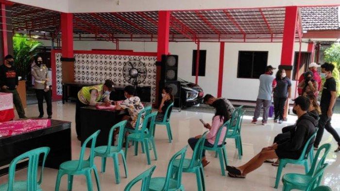 Razia Tempat Kos di Kecamatan Sananwetan Blitar, 2 Penghuni Ditemukan Reaktif Rapid Test Covid-19