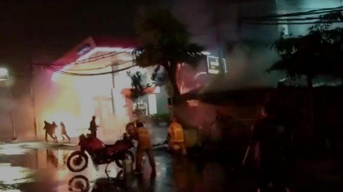 Terjadi Lima Kali Ledakan di Kawasan SPBU Margomulyo Surabaya, Polisi Sebut Tidak Ada Korban Jiwa