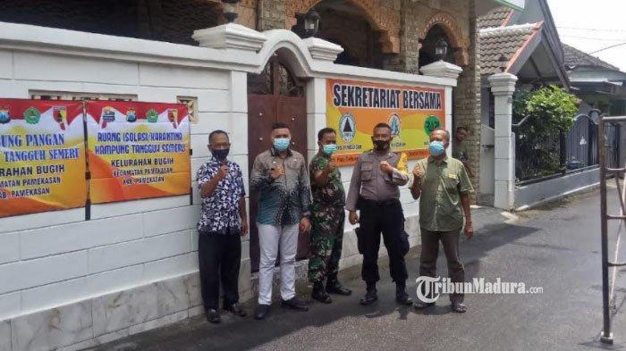 Dukung Kampung Tangguh, Gabungan Relawan di Pamekasan Bentuk Sekretariat Bersama dan Ruang Isolasi