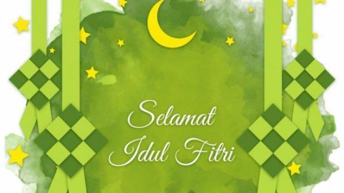 Ucapan Selamat Idul Fitri 1441 H Bahasa Indonesia dan Bahasa Jawa, Kirim via WA, IG, FB dan Twitter
