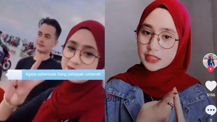 Seleb TikTok Novita Sari Klarifikasi Soal Video Pernyataan 'Banyak Rakyat Jelata di Pantai Camplong'
